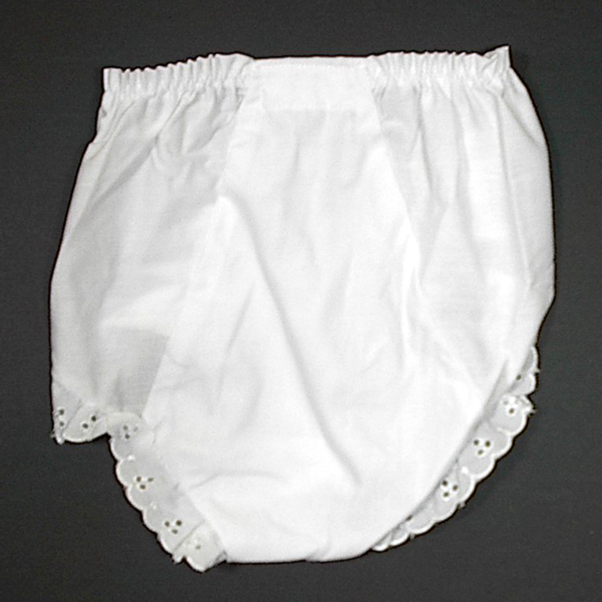 White Baby Diaper Covers Bloomers Embroidery Blank 6 months